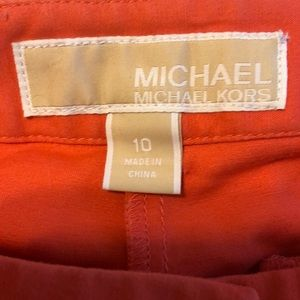 Coral colored ankle length Michael Kors